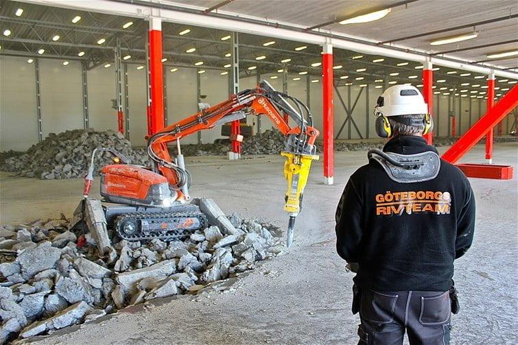 robot de demolicion husqvarna-dxr