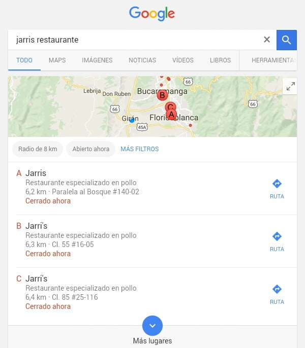 marketing online con google-maps
