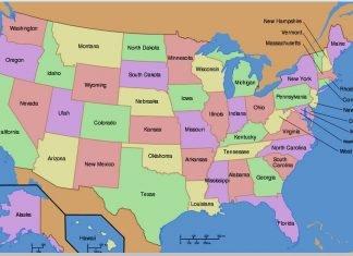 estados de los estados unidos