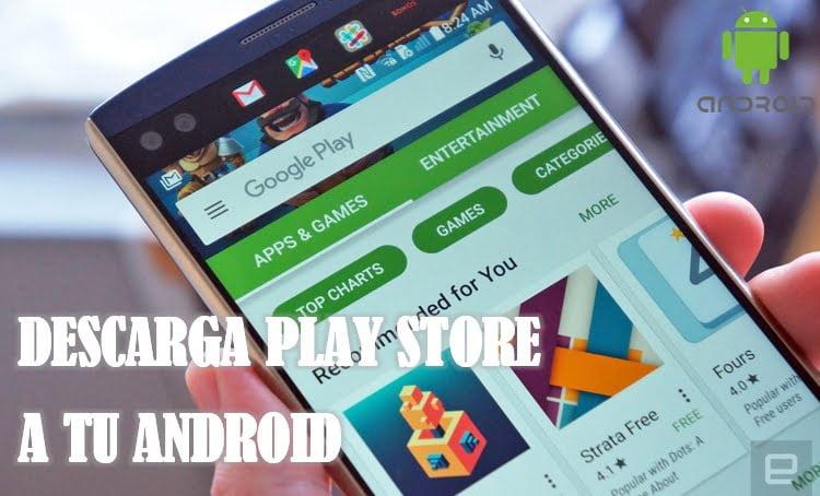 descargar play store como aplicacion