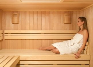 sauna para bajar de peso