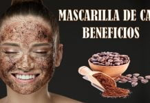 beneficios de la mascarilla de cafe