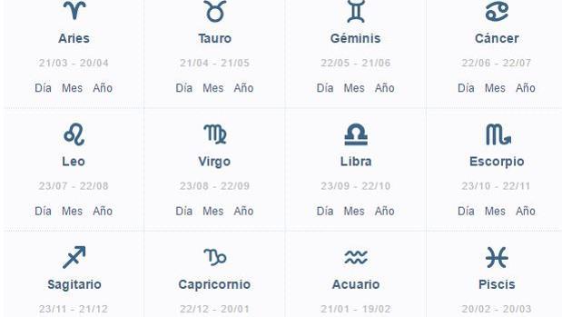 signos del horoscopo