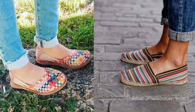 en venta fc195 4dcaf Alpargatas y Huaraches, los calzados artesanales que aun ...