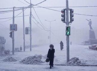 lugar mas frio del mundo