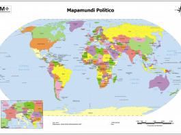 paises del mundo