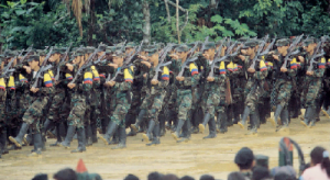 Grupo guerrillero en colombia