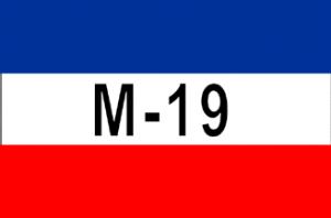 M19 bandera