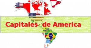paises y capitales de america
