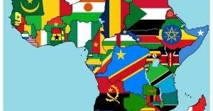 países y capitales de africa