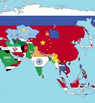 países y capitales de asia