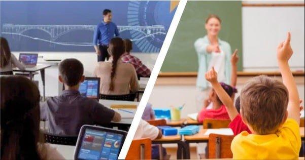 Tecnologia vs educacion