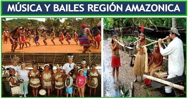 danzas de la amazonia