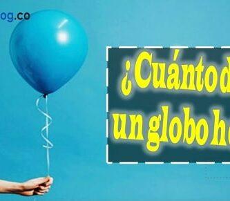 duracion de globo con helio